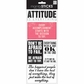 Sayings Stickers - Attitude Is Everything