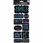 Sayings Stickers - Chalk-Family