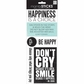 Sayings Stickers - Happiness Is A Choice