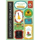 School Cardstock Stickers - I'm In 2nd Grade