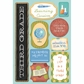 School Cardstock Stickers - I'm In 3rd Grade