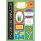 School Cardstock Stickers - I'm In 4th Grade