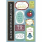 School Cardstock Stickers - I'm In Kindergarten