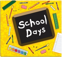 "School Days Album 12""x12"" - Yellow"