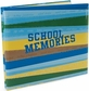 "School Memories Postbound Album 12""x12"" - Blue/Green"