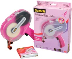 Scotch Advanced Tape Glider - Click to enlarge