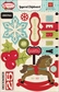 Season's Greetings Layered Chipboard Stickers