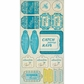 Seasons Summer Cardstock Stickers - Components Icons & Phrases