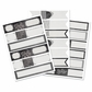 Self-Adhesive Envelope Wraps - Chalkboard