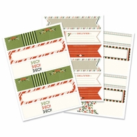 Self-Adhesive Envelope Wraps - Season's Greetings