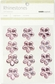 Self-Adhesive Flower Rhinestones - Light Pink