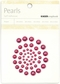 Self-Adhesive Pearls - Plum