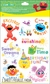 Sesame Street Rub-Ons Crafting - Words & Icons