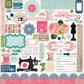 "Sew Lovely Cardstock Stickers 12""x12"" - Element"