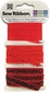 Sew Ribbon Ribbon Packs - Crimson