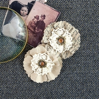 Siena Paper Flowers - Timeless 2.75""