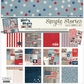"Simple Stories Simple Sets Collection Kit 12""x12"" - Stars & Stripes"