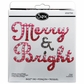 Sizzix Bigz BIGkick/Big Shot Die - Merry & Bright Phrase