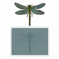 Sizzix Bigz Die by Tim Holtz - Layered Dragonfly