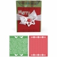 Sizzix Bigz XL Txtrd Impressions - BG Nordic Holiday Cross Stitch Set