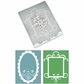 Sizzix Bigz XL Txtrd Impressions - BG Nordic Holiday Ornate Card #3 Frames
