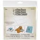 "Sizzix Dimensional Cutting Pad By Tim Holtz - 6""x6"""