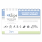 Sizzix eclips Cartridge - Decorate Your Life Shapes & Alphabet