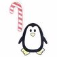 Sizzix Embosslits Die - Penguin w/Candy Cane