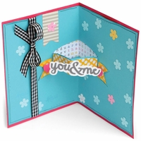 Sizzix Framelits Dies By Stephanie Barnard - Banners Drop-Ins Card