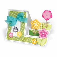 Sizzix Framelits Dies By Stephanie Barnard - Basic Step-Ups Card