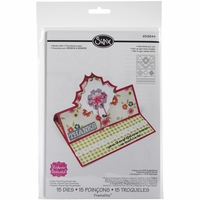 Sizzix Framelits Dies By Stephanie Barnard - Charming Stand-Ups Card