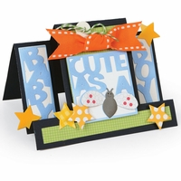 Sizzix Framelits Dies By Stephanie Barnard - Cute As A Bug Step-Ups Card