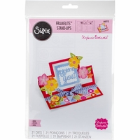 Sizzix Framelits Dies By Stephanie Barnard - Thinking Of You Mini Stand - Ups Card