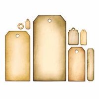 Sizzix Framelits Dies by Tim Holtz® - Tag Collection