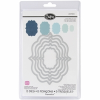 Sizzix Framelits Dies - Fancy Labels #4