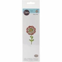 Sizzix Framelits Dies - Flower Layers & Stem