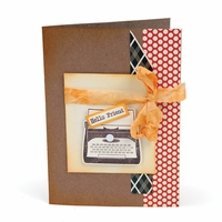 Sizzix Framelits Dies - Noted