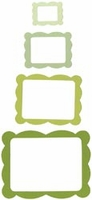 Sizzix Framelits Dies - Scallop Frame Rectangle