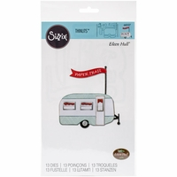 Sizzix Framelits Dies - Travel Trailer