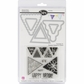 Sizzix Framelits Dies w/Stamps - Banners, Pennants
