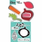 Sizzix Framelits Dies w/Cling Stamps - Ornaments #3