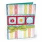 Sizzix Framelits Dies w/Stamps By Stephanie Barnard - Friendly Phrases