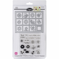 Sizzix Framelits Dies - w/Stamps By Stephanie Barnard Windows