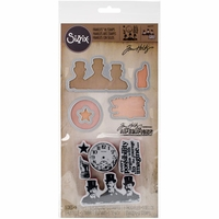 Sizzix Framelits Dies w/Stamps By Tim Holtz® - Possibilities