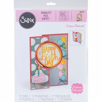 Sizzix Framelits Plus Dies By Stephanie Barnard - Circle Flip-Its Card