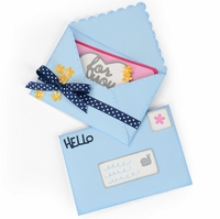 Sizzix Framelits Plus Dies By Stephanie Barnard - Mini Envelope