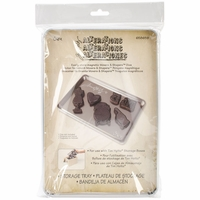 Tim Holtz® Metal Storage Tray For Movers & Shapers Magnetic Mini Dies