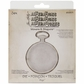 Sizzix Movers & Shapers Base Die by Tim Holtz - Pocket Watch Frame