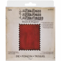 Sizzix Movers & Shapers Base Die by Tim Holtz® - Postage Stamp Frame