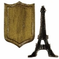Sizzix Movers & Shapers Magnetic Dies By Tim Holtz - Eiffel Tower & Shield